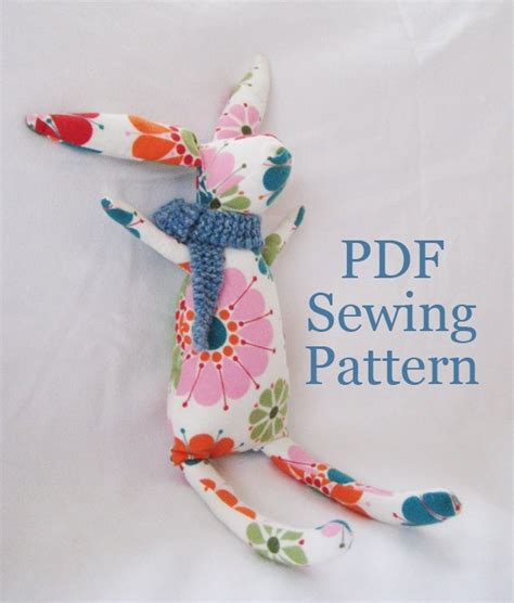 Handmade Stuffed Animal Sewing Patterns - 17 best images about bunny sewing pattern on