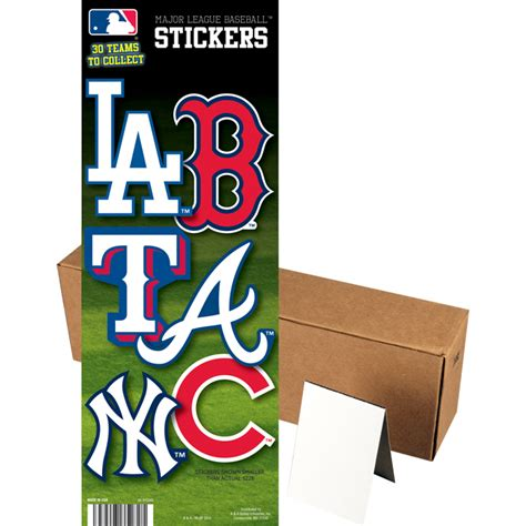 Stiker Hello Scoopy Carbu Fullset mlb logo stickers a a global industries