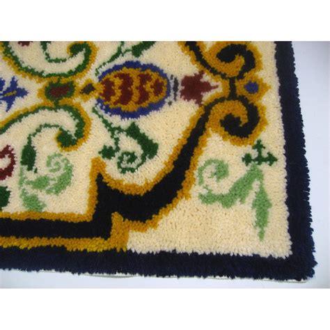 wool hook rug kits fiorenza runner latch hook rug kit in wool