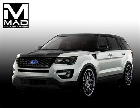 four ford ford bringing four customized explorer sport suvs to sema