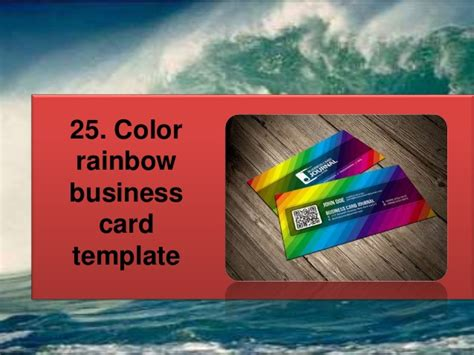 Rainbow Business Card Template by Business Card Template Rainbow Gallery Card Design And
