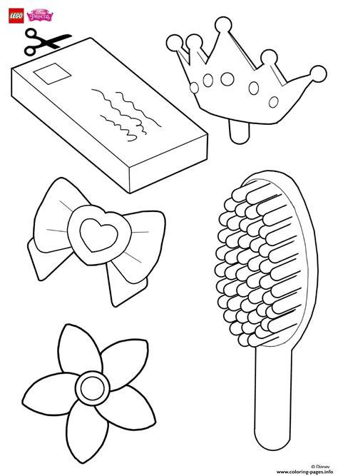 help decorate rapunzels hair accessories lego disney