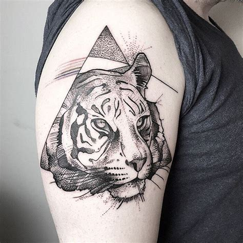 geometric tiger tattoo 35 majestic tiger designs amazing ideas