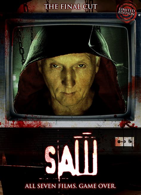 What The Saw 1 saw the cut edition 1 7 including lenticular dvd zavvi