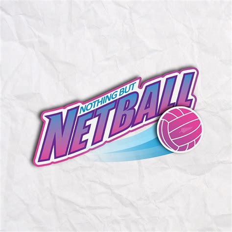design t shirt netball modern professionell logo design for nothing but netball