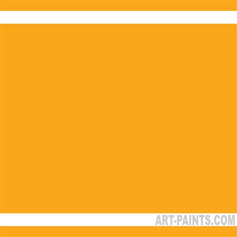 soft orange color yellow orange azo soft body acrylic paints 414 yellow