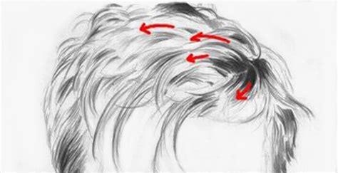 principais do cabelo seguindo a direcao de crescimento do cabelo desenhe tudo como desenhar cabelo curto
