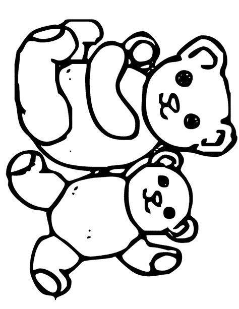 Coloring Pages Teddy Bears Coloring Page Teddy Bears Free Printable Teddy Coloring Pages