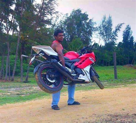 Tas Motor R15 aripitstop 187 siapa bilang yzf r15 motor berat masih