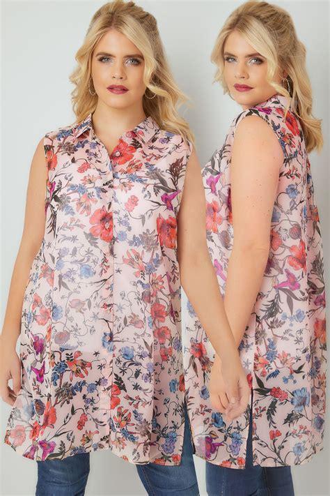 La Senza Chemise Size Xs 1 chemise sans manches imprim 233 fleuri multi grandes tailles 16 224 32