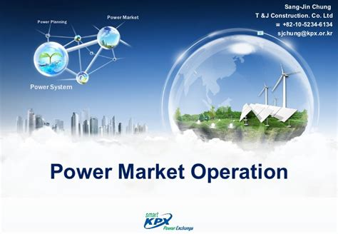 power system operations and electricity markets electric power engineering series books power market operation 발표