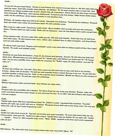 Kado Ultah Yg Indah surat dari ibu 2 sasakala80