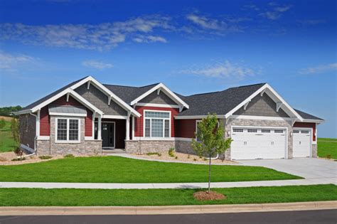 craftsman ranch craftsman ranch style brio design homes custom home