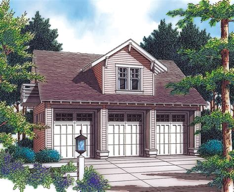 garage guest house plans detached garage with guest house potential 69570am