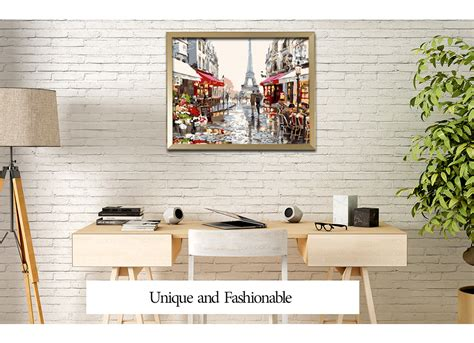 dropship home decor dropship urban landscape digital oil hand painting wall