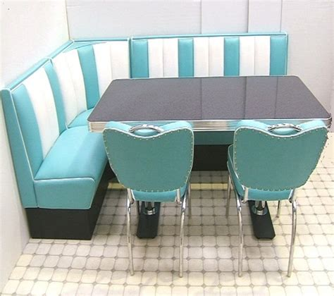 Retro Furniture Diner Booth Hollywood Corner Set 130 X