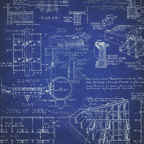blue prints for a house the amazing engine drones at the vineyard 3d