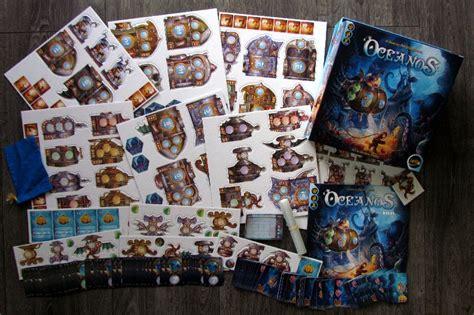 Oceanos Board review 194 by deskovehry oceanos depths of secrets oceanos boardgamegeek