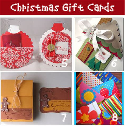 Diy Christmas Gift Cards - christmas gift card tags and money holder ideas tip junkie