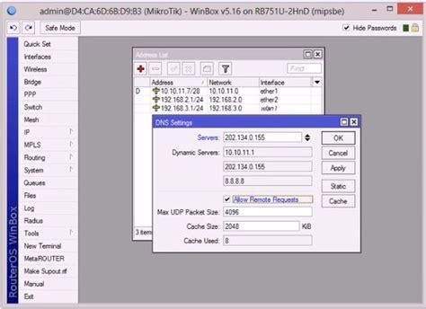 Berapa Modem Adsl koneksi gateway rb751 dengan modem adsl it solution center