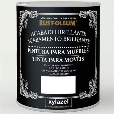 pintura brillante muebles blanco hielo ml xylazel