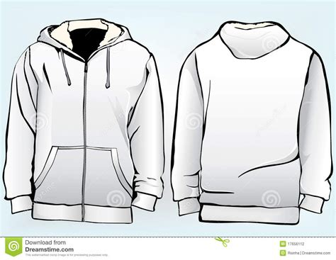 Jaket Oor jacket or sweatshirt template stock photography image