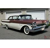 1957 MERCURY MONTEREY CALIFORNIA RUST FREE 2 DOOR SEDAN