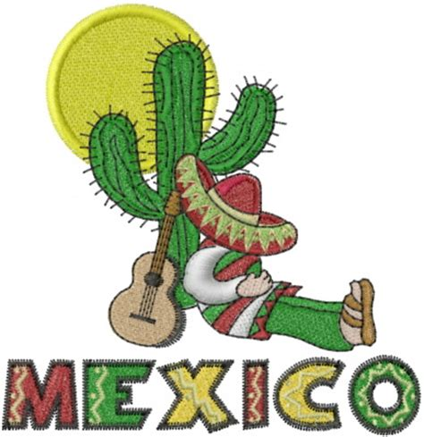 mexican machine embroidery designs embroidery patterns mexico siesta embroidery design from machine embroidery