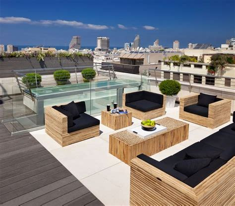 Rooftop Patio Design 5 Beautiful Roof Patios
