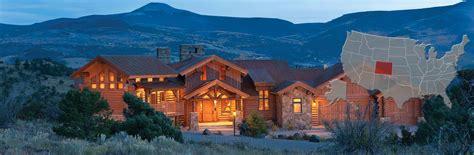 colorado house colorado log and timber frame homes by precisioncraft