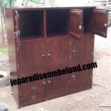Lemari Loker Kayu mebel jepara jati indoor outdoor furniture minimalis