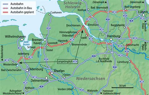 autobahn map germany best autobahns in nw germany sabre