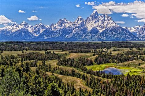 Grand National Park by Grand Teton National Park National Park In United States