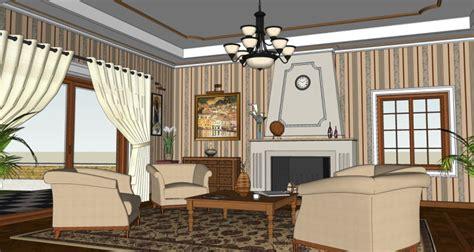 classic living room sketchup 2 by teknikarsitek on deviantart making of a classic room sketchup 3d rendering