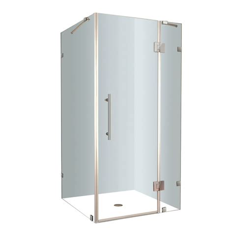 32 Inch Shower Enclosures by Aston Avalux 32 Inch X 32 Inch X 72 Inch Frameless Shower