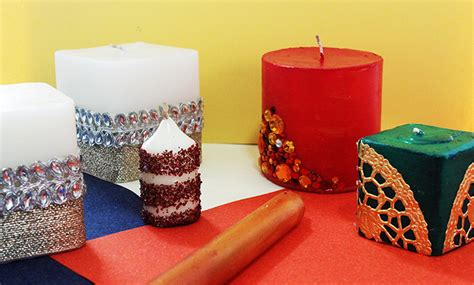 decorative candles 5 ways to diy decorative candles on a budget