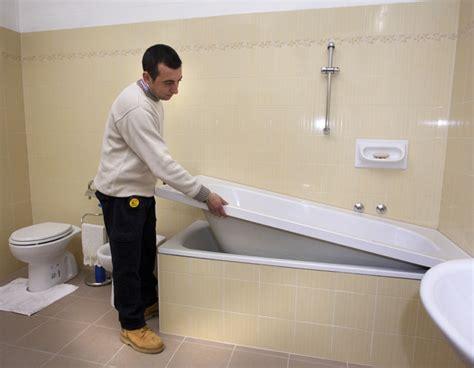 cambiare vasca da bagno senza togliere vecchia