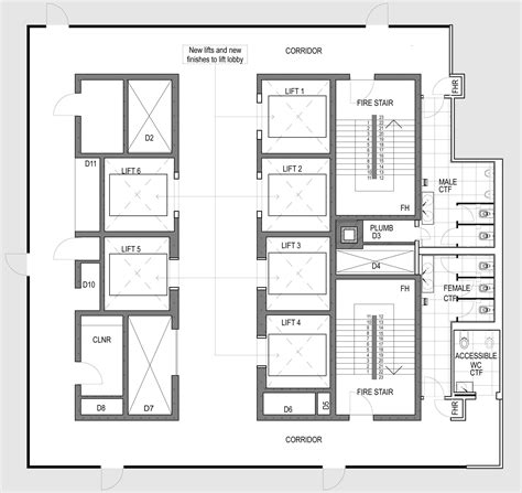 lift floor plan lift in plan google search details pinterest arch