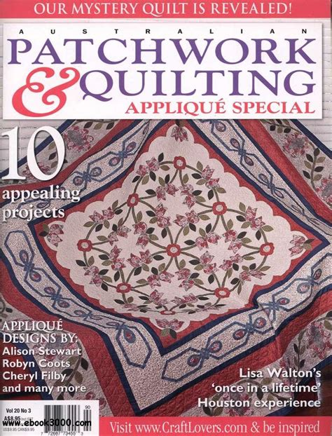 Patchwork Quilting Magazine - australian patchwork quilting vol 20 no 3 2011 free