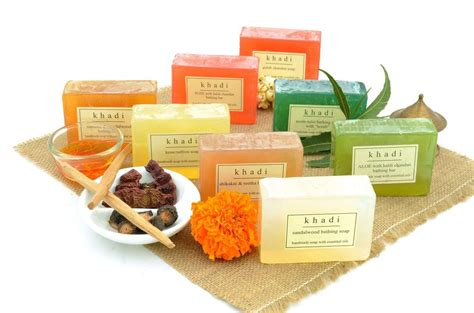 Handmade Products In India - khadi assorted handmade soaps india s traditional