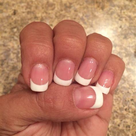 natural white pink and white natural nails www pixshark com images