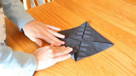 Origami Napkin Holder - how to make an origami napkin flower