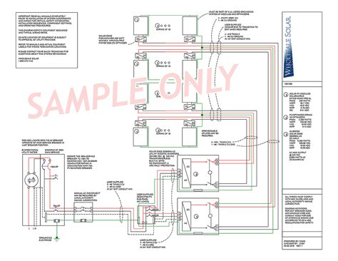 solar panel system wiring diagram gooddy org