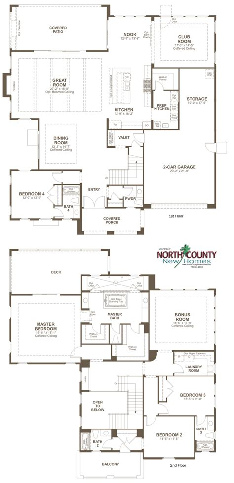 the summit floor plan the summit at san elijo hills floor plans north county