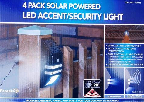 solar powered flood lights costco solar powered motion lights costco lighting motion sensor