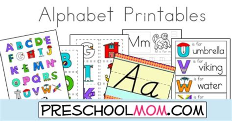 printable alphabet for classroom free alphabet printables from preschool mom children can
