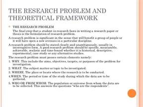 Theoretical Framework Examples Research Paper Sample Of Theoretical Framework In Research Paper