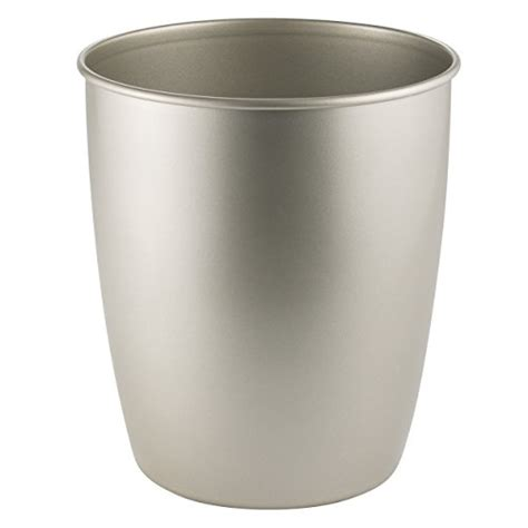 brushed nickel wastebasket bathroom very cheap price on the brushed nickel trash can