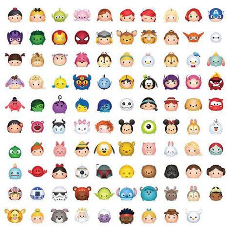 tsum tsum character digital  size print files