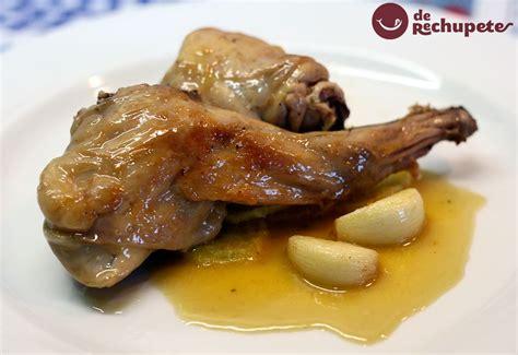 recetas para cocinar conejos conejo guisado al ajillo receta recetas de carnes y